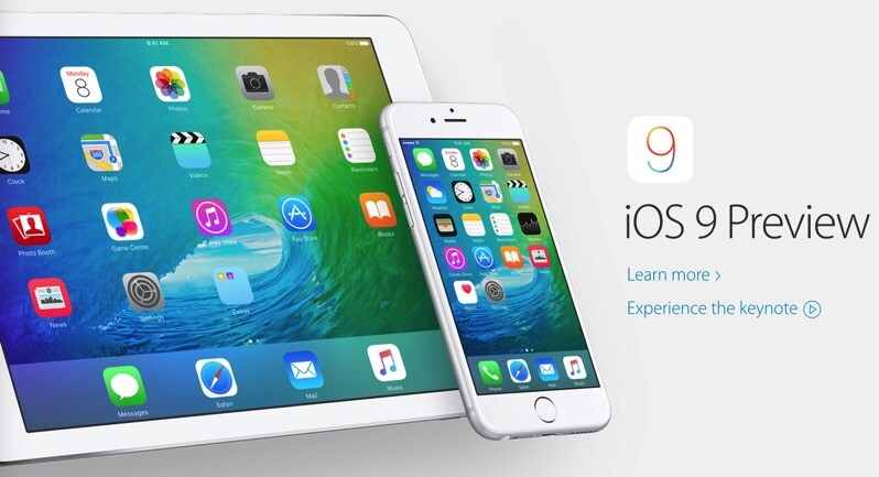 Apple, ios, iphone, ipad, ipod, ios 9