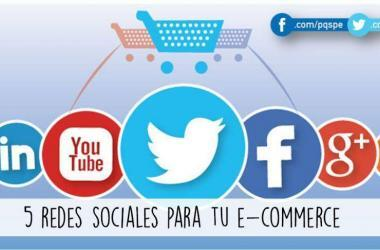 e-commerce, facebook, twitter, linkedin, youtube, redes sociales