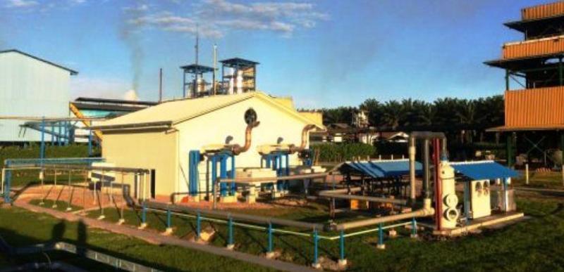 Planta de biogás Grupo Palmas