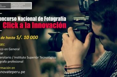 Concursos, fotografia, innovacion, Ministerio de la Produccion