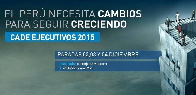 CADE 2015, CADE Ejecutivos, IPAE