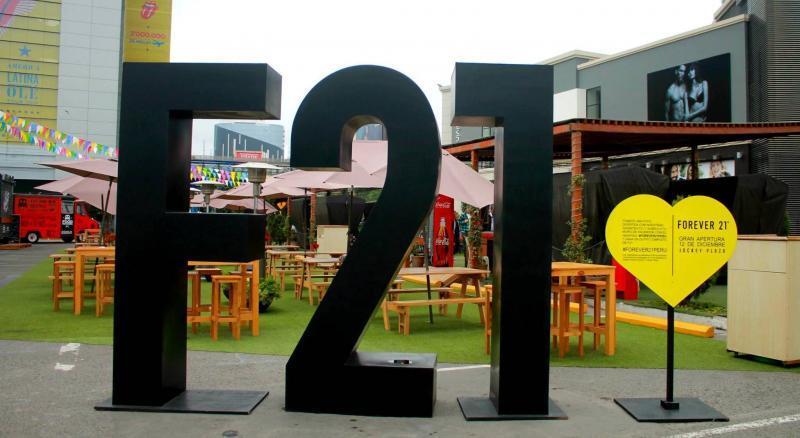 forever 21, plaza norte, jockey plaza,Perú