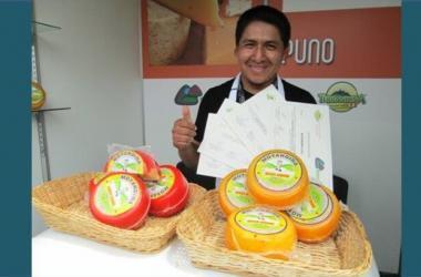 emprendedor, queso, quinua, manonga, Farley Minaya