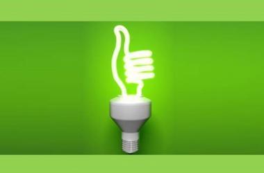 ahorro de luz, fluorescente, LED