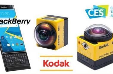 ces 2016, kodak, blackberry, tecnologia