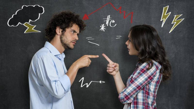 negocios, socios, discusión, consejos