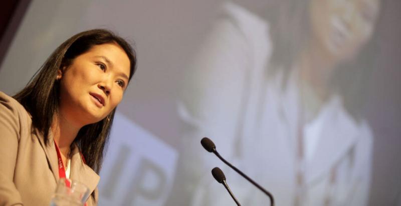 "Keiko Fujimori: ""No voy a permitir que la historia se repita"""