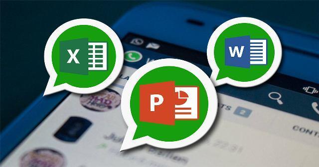 WhatsApp, documentos, office
