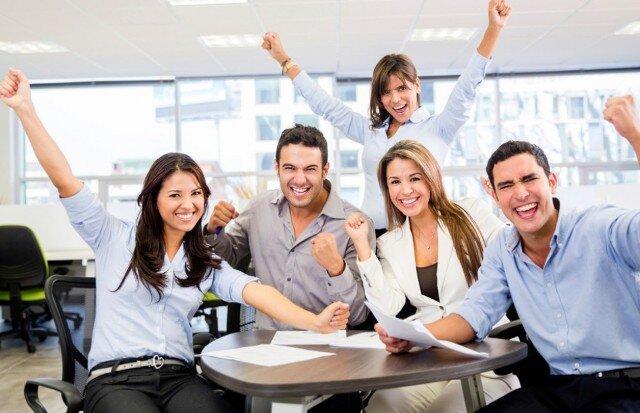 trabajo, feliz, hábitos