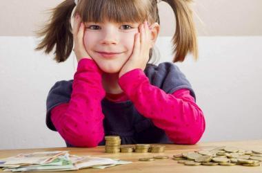 administrar el dinero como niño