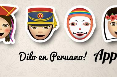 Appla Perú, emojis peruanos, chat, emoticones