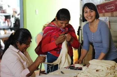 APTEC PERÚ, artesanos, Perú Moda, artesanía, textil