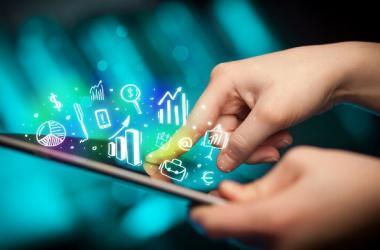 consumidor, digital, conexión, redes sociales, clientes
