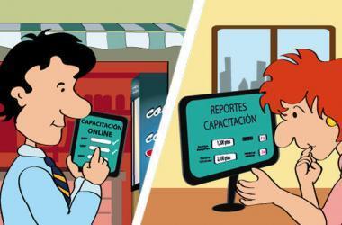 E-learning, empresas, trabajadores, capacitación online