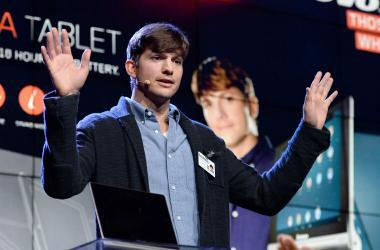 Ashton Kutcher aconseja a los emprendedores