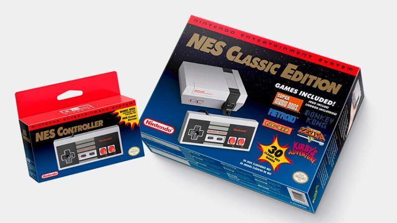 La consola NES vuelve en versión diminuta.