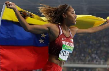 Facebook ayudó al triunfo de medallista Yulimar Rojas