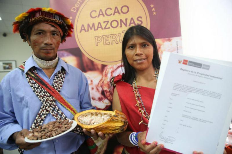 Indecopi entrega décima denominación de Origen Cacao Amazonas Perú