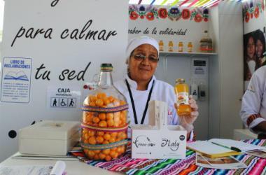 D'Laly, pertenece a la red de empresas solidarias promovidas por PAN-SOY.