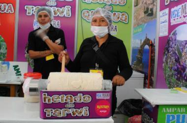 Los helados artesanales de Puno buscan llegar a los paladares más exquisitos de Mistura.