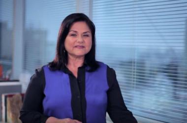 """Judith Bravo de Rueda, especialista del Módulo """"Desarrollando al Líder Emprendedor"""" del Campus Virtual Romero."""