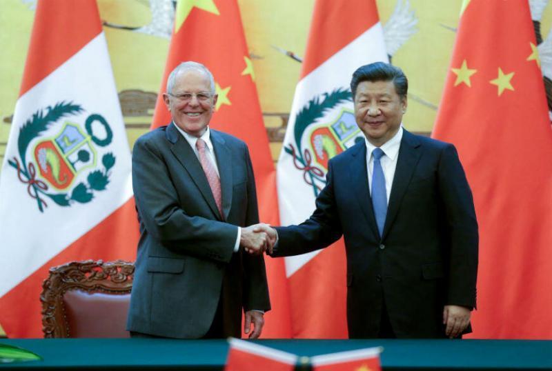 PPK: Presidente de China visitará el Perú en noviembre