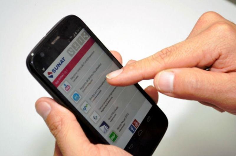 Sunat: cinco pasos para emitir facturas desde tu smartphone