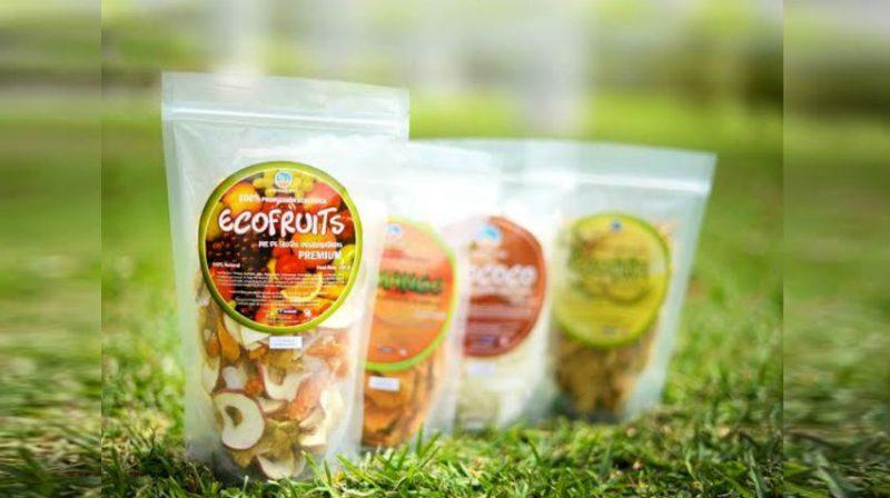 Ecofruits tiene dos años en el mercado nacional comercializando una variedad de frutos deshidratados.