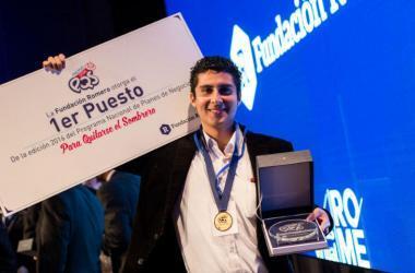 Jorge Luis Rojas Barnett, ganador general del Premio PQS 2016