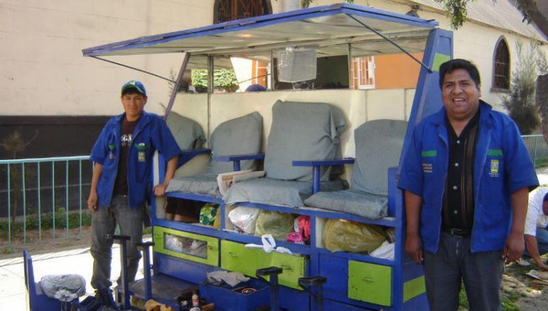 Juan cuenta con un módulo ecológico y ha logrado mejorar su atención al cliente.