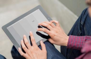 Tablet en braille