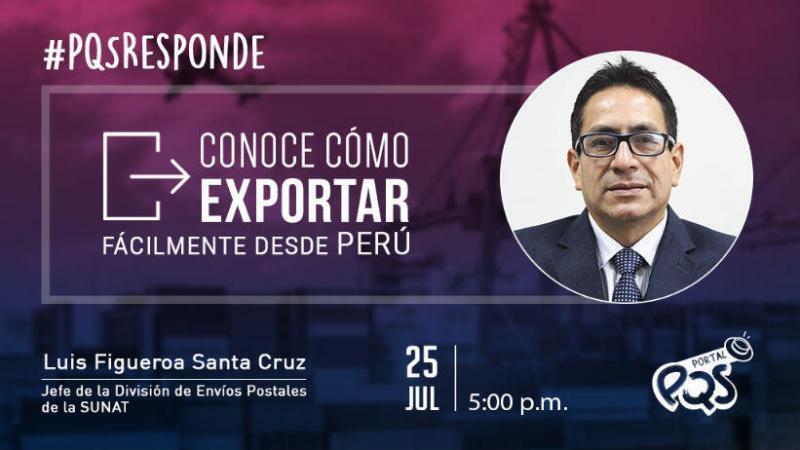 PQSresponde: Conoce cómo exportar fácilmente desde Perú