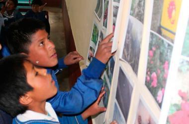 Los niños de Alayo, provincia de Concepción (Junín), ahora aprenden de una manera diferente. (Foto: Identilectores)