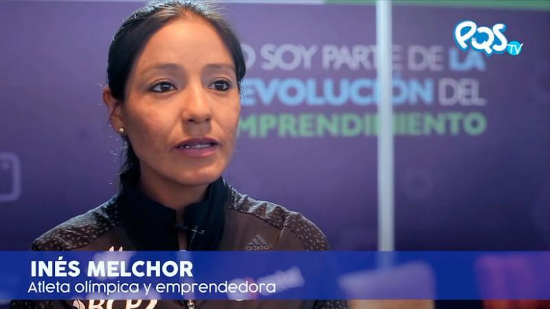 Inés Melchor recomienda a no rendirse cuando tengamos fracasos. (Foto: PQS)