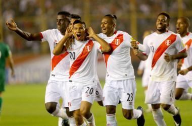 Perú venció 2-1 a Bolivia y se mantienen las esperanzas de cara a las Eliminatorias Rusia 2018. Foto referencial: Andina