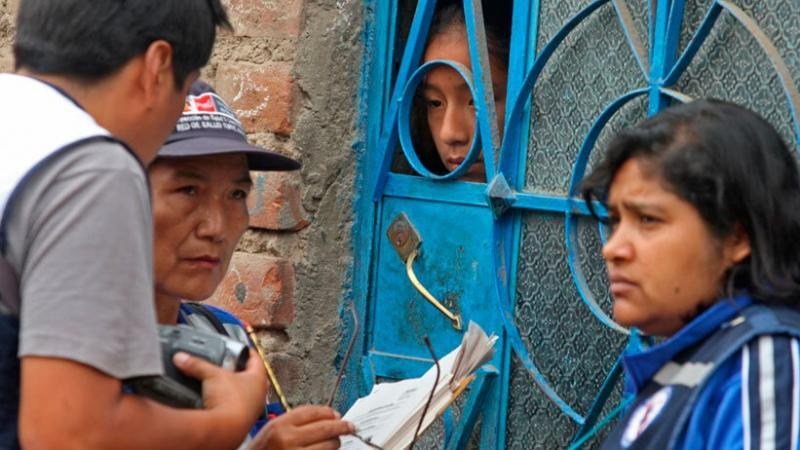Los empadronadores que visitarán las viviendas durante el censo estarán plenamente identificados e irán en grupos, para evitar que algunos delincuentes se infiltren entre ellos. (Foto: Andina)