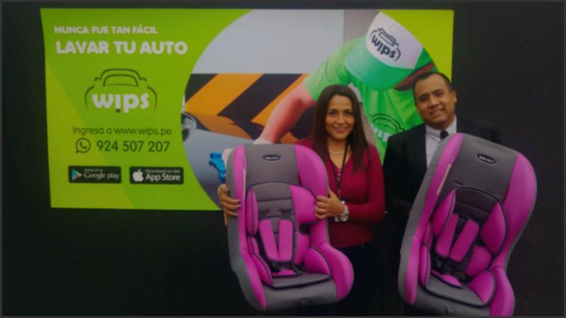 Ahora puedes solicitar la limpieza de asientos para bebés adicionalmente al lavado de tu vehículo a un clic de distancia.