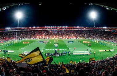 El Westpac Stadium fue construido en 1999 y tiene capacidad para 36 mil espectadores. Es un estadio 'multiusos', pues se utiliza para el fútbol y el rugby, el deporte más popular en Nueva Zelanda. (Foto: INPHO James Crombie)