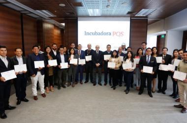 Los ejecutivos son parte del Programa de Mentores Corporativos de la Incubadora PQS. (Foto: Fundación Romero)