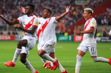 Perú ganó por 2 - 0 a Nueva Zelanda y estará en el mundial después de 36 años. (Foto: Andina)
