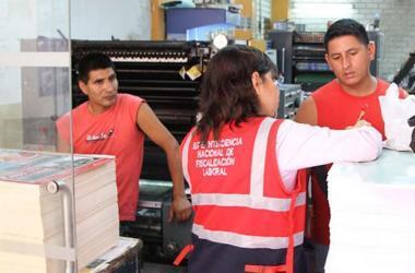 Sunafil realizará campañas de fiscalización laboral en forma preventiva y orientadora respecto del cumplimiento de las normas laborales. (Foto: El Peruano)