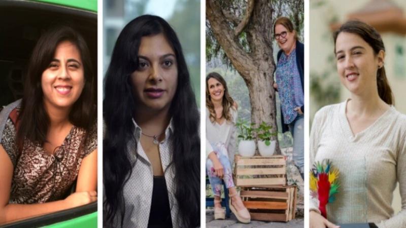 Cinco emprendimientos liderados por mujeres que trabajan arduamente en diferentes sectores.