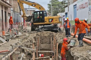 El sector construcción alberga gran cantidad de asalariados sin contrato. (Foto: Andina)