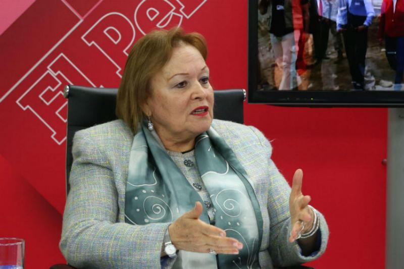 Presidenta de la Cámara de Comercio de Lima, Yolanda Torriani / Foto: Andina