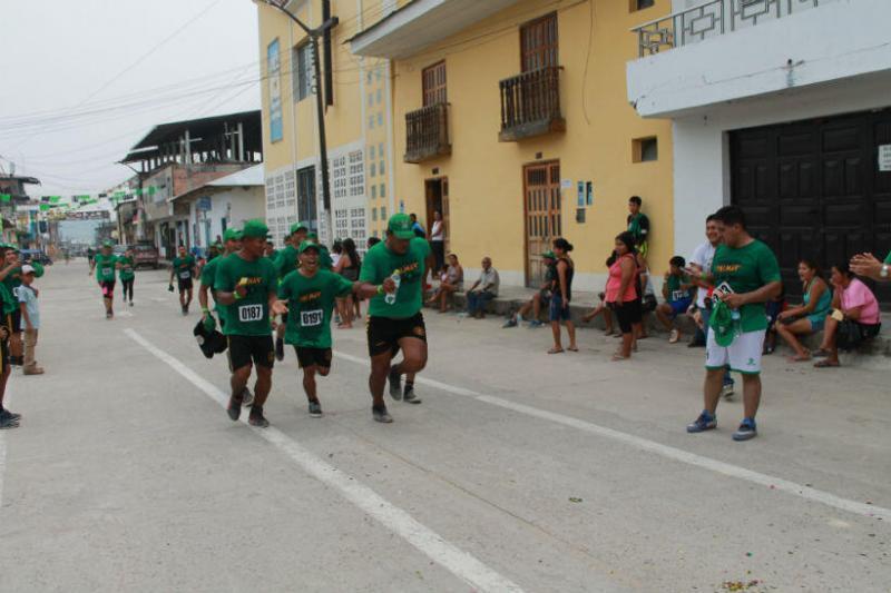 """Bajo el concepto: """"un corredor, un árbol"""", el Grupo Palmas anunció, por cuarto año consecutivo, la competencia para runners en la Amazonía peruana."""