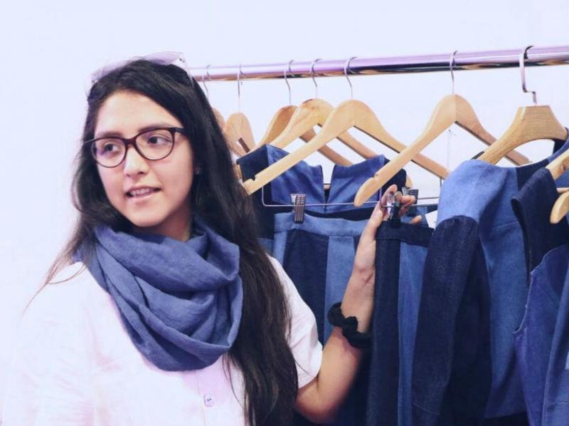 Amarié es un emprendimiento creado por A. Marié Hamann, diseñadora de modas del CEAM.