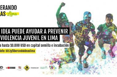 Liberando Ideas LIMA es un concurso que busca identificar y potenciar soluciones innovadoras enfocadas en prevenir la violencia juvenil en el Perú.