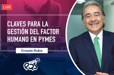 Este 6 de diciembre, en #PQSresponde, Ernesto Rubio, gerente general del Grupo Ronal Career, te explicará cómo gestionar a tu colaboradores.