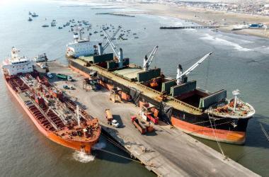 El CEO de Salaverry Terminal Internacional, Diego Cassinelli, sostuvo que la empresa avanza a paso rápido con las primeras obras para la modernización del puerto.