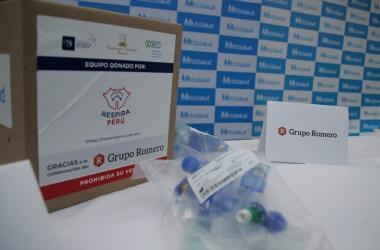 Grupo Romero y Respira Perú entregan segundo lote de respiradores artificiales